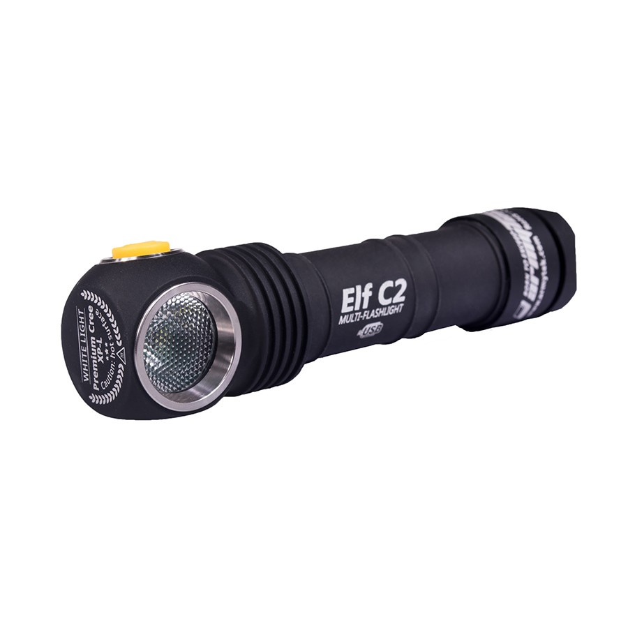 Фонарь Armytek Elf C2 XP-L Micro-USB + 18650 Li-Ion, нейтрально-белый